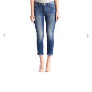 Rock & Republic Kashmiere Crop Dark Wash Jeans